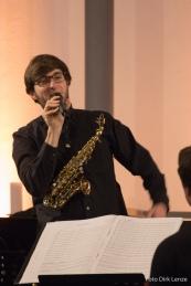 Lorenz Schönle - Sopransaxophon, Altsaxophon, Flöte, Moderation