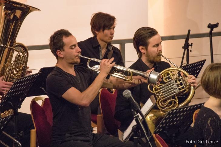 Jens Buschenlange - Trompete, Flügelhorn; Edward Haspelmann - Horn
