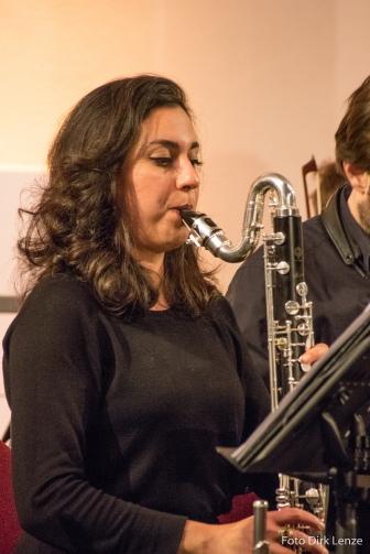 Shabnam Parvaresh - Bassklarinette, Klarinette